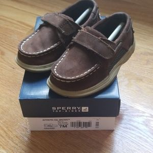 Sperry Top-Sider, Intrepid Brown, Toddler Size 7